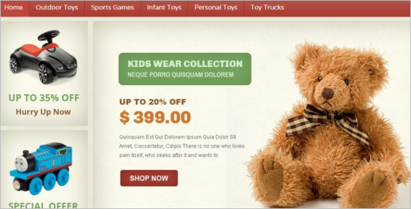 Toy Store Magento Template
