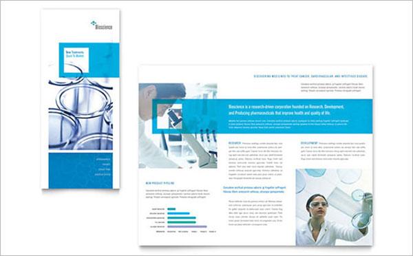 Trifod Drug Brochure Template