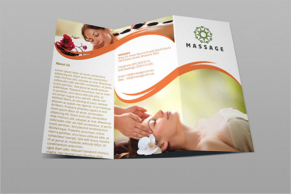 Trifold Chiropractic Brochure Template