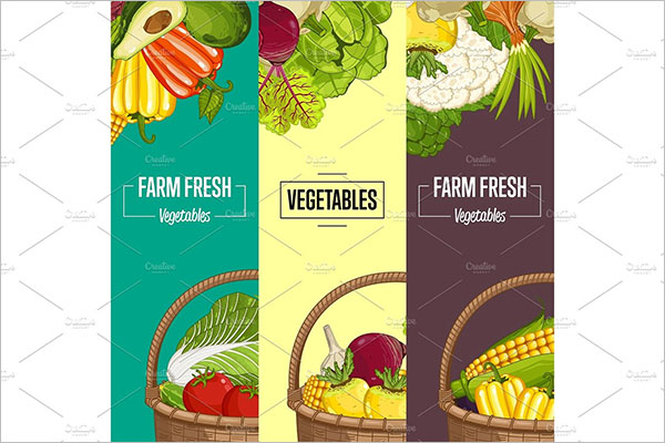 Vegetable Flyer Template