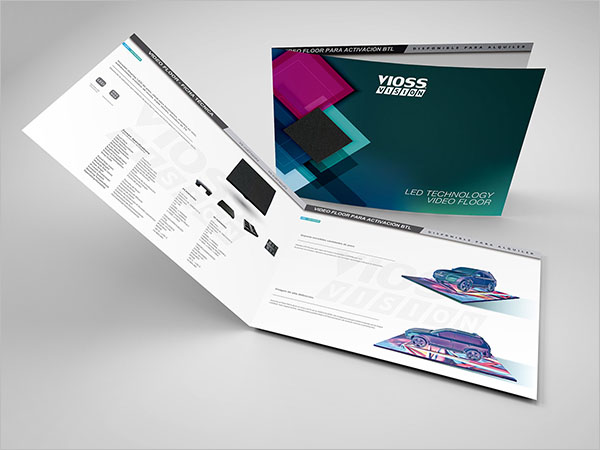 Video Floor Brochure Template
