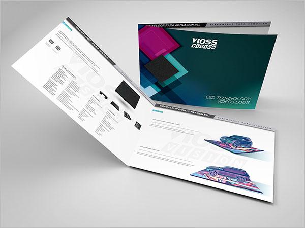 Video Floor Brochure Template