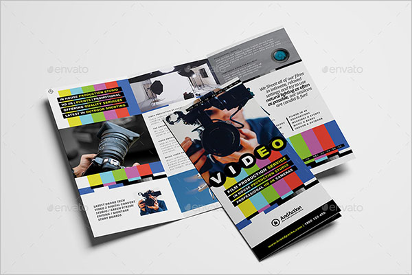 Videographer Brochure Template