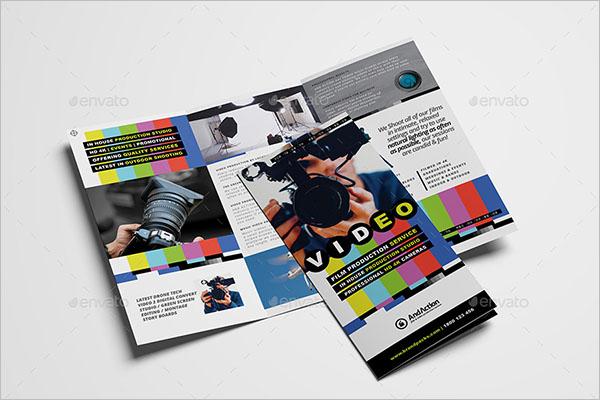 Videographer Brochure Template