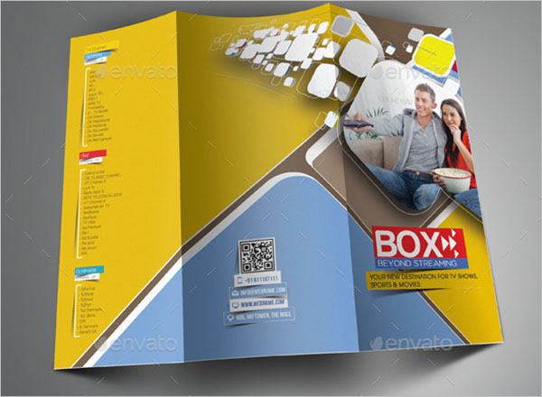 Videos Streaming Brochure Template