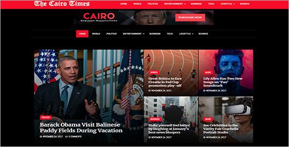 Viral Newspaper WordPress Theme
