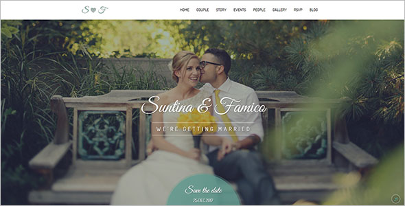 Wedding Bootstrap Template