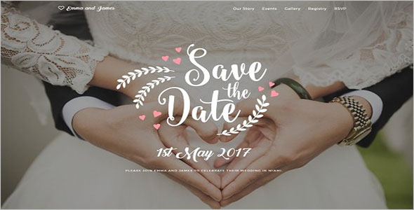 Wedding Photography Bootstrap Template