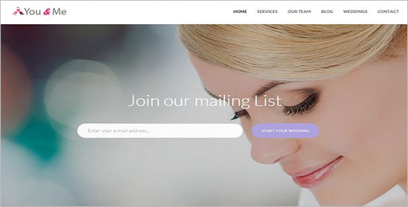 Wedding Shop Bootstrap Template