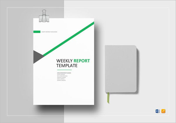 Weekly Production Status Report Template
