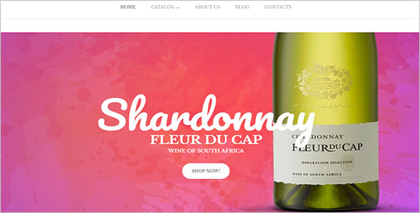 Wine Store VirtueMart Template