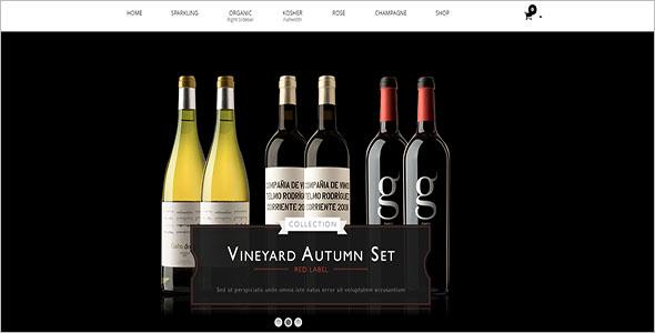 Wine Store Woocommerce Template