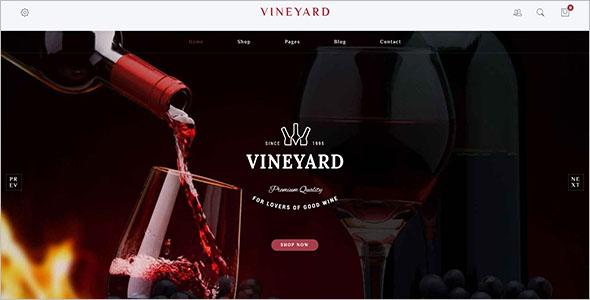 Wine Yard Woocommerce Template
