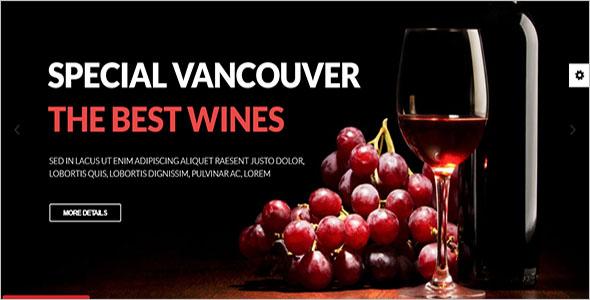 Winery Responsive VirtueMart Template