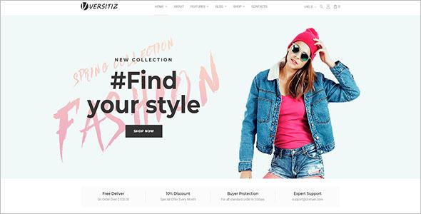 Womens Fashion Store Woocommerce Theme
