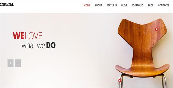 Woocommerce Template For Interior Design