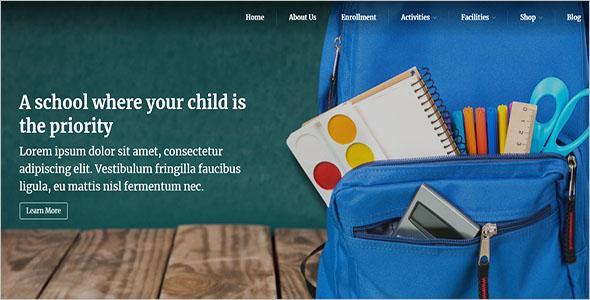 WordPress School Website Theme