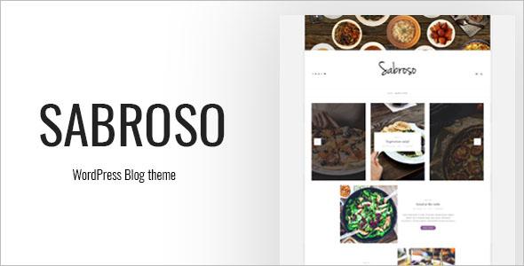WordPress Theme for Food Bloggers