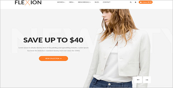 eCommerce Store Magento Template