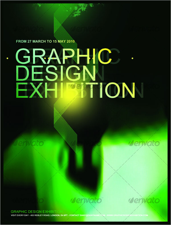 Abstract Graphic Poster Design