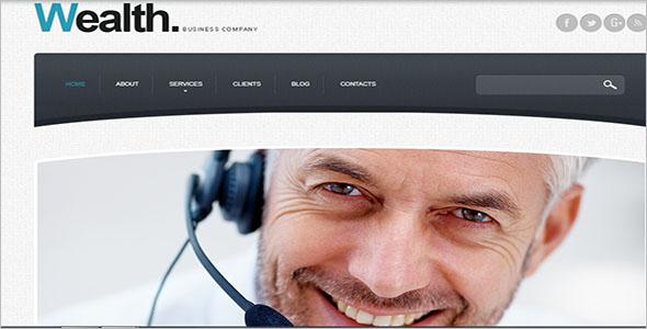 Advertising Agency Drupal Template