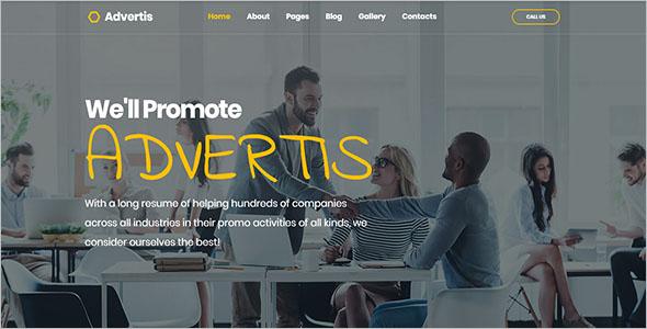 Advertising Agency Joomla Design