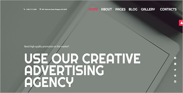 Agency Joomla Website Template