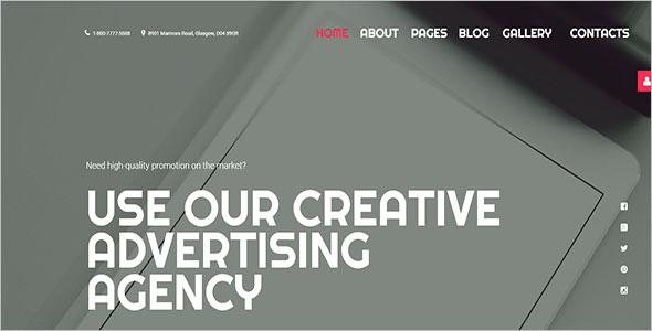 Agency Joomla Website Template