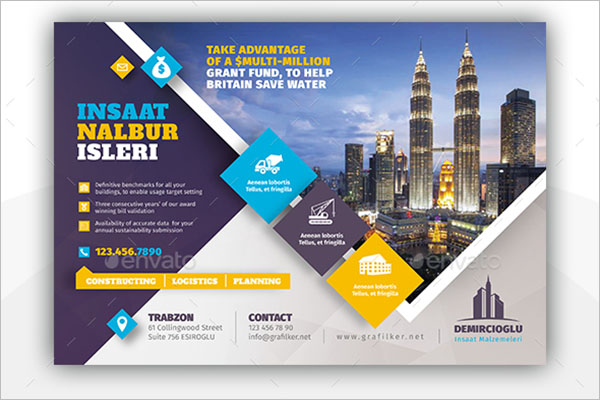 Architecture Construction Flyer Template