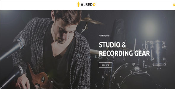 Audio Store Magento Theme