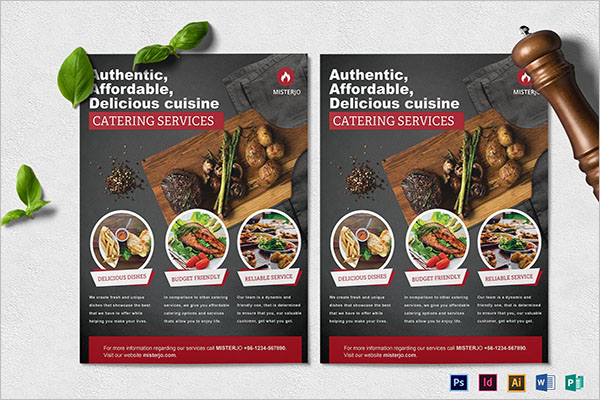 Best Catering Service Flyer Template