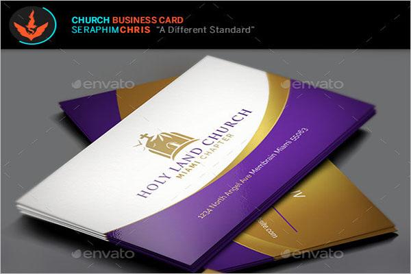 Best Church Business Card Template