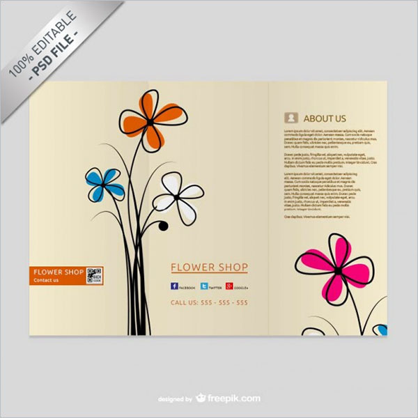 Best Creative Brochure Design PSD