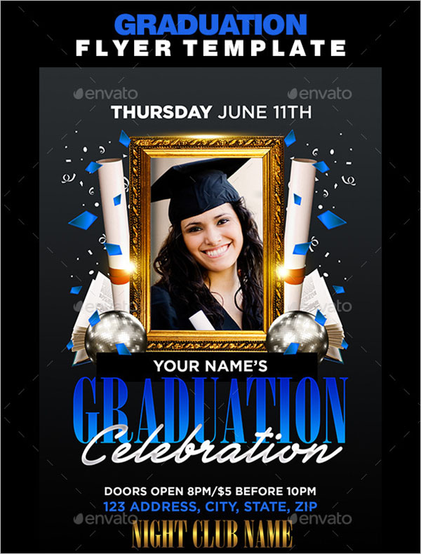Best Graduation Flyer Template