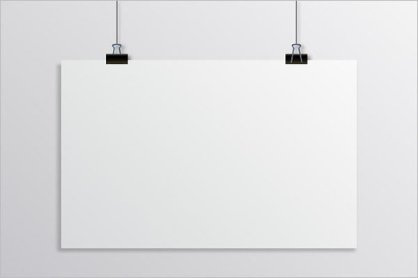 Best Hanging Poster Template