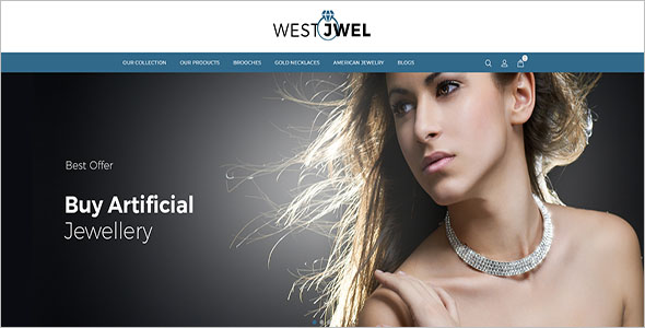 Best Jewelry OpenCart Template