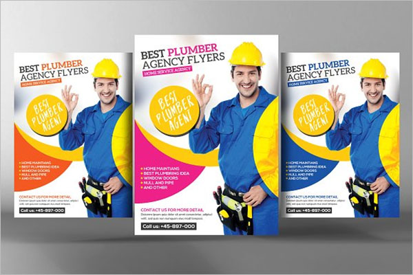 Best Plumber Flyer Template