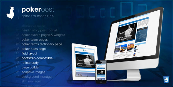 Best Poker WordPress Theme
