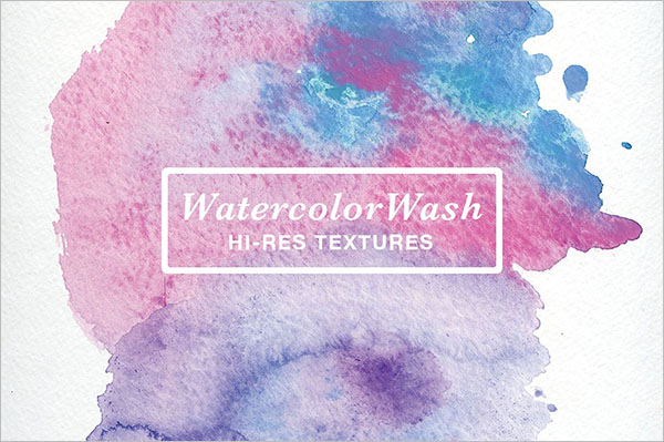 Best Selling Watercolor Texture Design