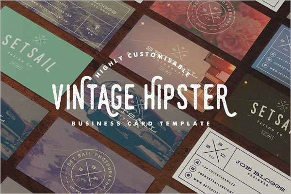 Best Vintage Business Card Template