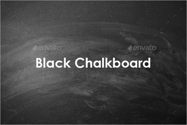 Black Chalkboard Texture Design