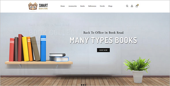 Books OpenCart Marketplace Theme