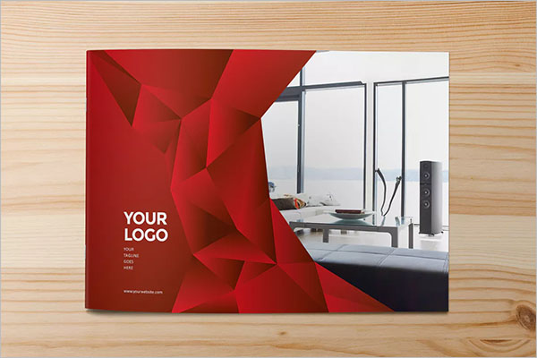 Brochure Interior Design PSD