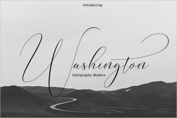 Calligraphy Modern Fonts