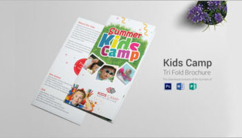 Camp Brochure Templates