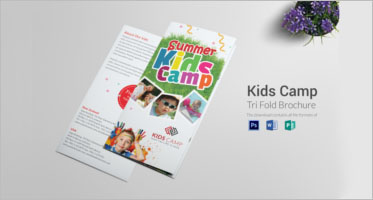 Camp Brochure Templates