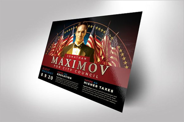 Campaign Flyer Template Word