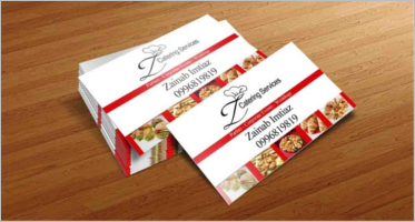Catering Services Business Card Templates