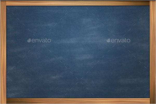 Chalkboard PSD Backdrop Template