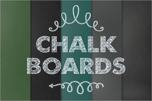Chalkboard Printable Paper Textures